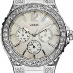 นาฬิกา Guess Model U12653L1, White Crystal Quartz