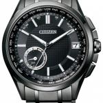 นาฬิกาผู้ชาย Citizen Eco-Drive รุ่น CC3015-57E, Attesa Satellite Wave F150 Super Titanium