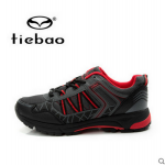 รองเท้าจักรยานเสือภูเขาแบบผ้าใบ TIEBAO รุ่น TB22-B1323 สีดำแดง