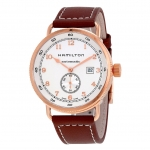 นาฬิกาผู้ชาย Hamilton รุ่น H77745553, Khaki Navy Pioneer Small Second Automatic