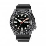 นาฬิกาผู้ชาย Citizen รุ่น NH8385-11E, Automatic 100m Black IP Watch