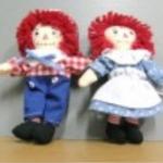 แพ็คคู่ Ann & Andy ขนาด 5.5 นิ้ว (มือสอง)