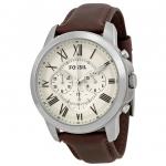 นาฬิกาผู้ชาย Fossil รุ่น FS4735, Grant Chronograph