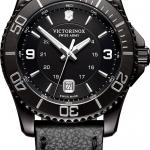 นาฬิกาผู้ชาย Victorinox Swiss Army รุ่น 241787, Maverick Large Black Edition Quartz Men's Watch