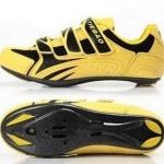 รองเท้าจักรยานเสือหมอบ TIEBAO รุ่น TB02-B969 สีเหลืองดำ