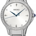นาฬิกาผู้หญิง Seiko รุ่น SRZ485P1, Quartz Diamond Accent Women's Watch