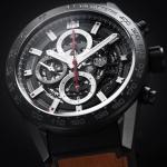 นาฬิกาผู้ชาย Tag Heuer รุ่น CAR2090.FT6124, Carrera Calibre Heuer01 Automatic Chronograph 100 M - ∅43 Mm Men's Watch
