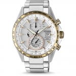นาฬิกาผู้ชาย Citizen รุ่น AT8156-87A, Eco-Drive Chronograph Power Reserve Radio-Controlled 100m Men's Watch