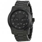 นาฬิกาผู้ชาย Michael Kors รุ่น MK8157, Blacked Out Runway Chronograph Men's Watch