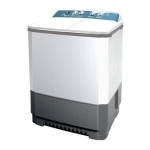 เครื่องซักผ้า 2 ถัง LG ระบบ ROLLER JET PUNCH + 3 ขนาดซัก 14 KG WP-1650WST