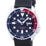 นาฬิกาผู้ชาย Seiko รุ่น SKX009J1-LS8, Automatic Diver's Ratio Black Leather 200M