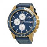 นาฬิกาผู้ชาย Tommy Hilfiger รุ่น 1791162, Jace Multi-Function Blue Dial Leather Men's Watch