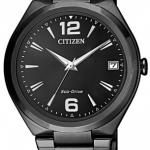 นาฬิกาผู้หญิง Citizen รุ่น FE6025-52E, Eco-Drive Black Women's Watch