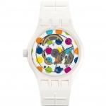 นาฬิกา ชาย-หญิง Swatch รุ่น SUTW403, The Originals Sistem Polka Automatic Unisex Watch