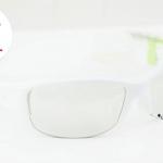 AR1 - Gloss White - แว่นตาจักรยาน LAZER