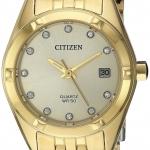 นาฬิกาผู้หญิง Citizen รุ่น EU6052-53P, Quartz Women's Watch