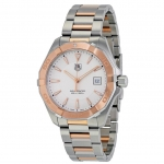 นาฬิกาผู้ชาย Tag Heuer รุ่น WAY1150.BD0911, Aquaracer Quartz Rose Gold Edition 300 M - ∅40.5 Mm Men's Watch