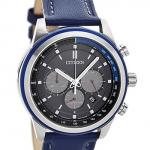 นาฬิกาผู้ชาย Citizen Eco-Drive รุ่น CA4031-07L, Chronograph Tachymeter