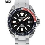 นาฬิกาผู้ชาย Seiko รุ่น SRPB99, Prospex Padi Samurai Divers Automatic 200M
