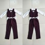 ID449-เสื้อ+กางเกง 6 ชุด /แพค ไซส์ 100-150