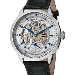 นาฬิกาผู้ชาย Stuhrling Original รุ่น 133.33152, Executive Automatic Skeleton Black Leather