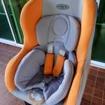 คาร์ซีทมือสอง Leaman สีส้ม-เทา รหัสสินค้า CS0039