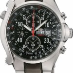 นาฬิกาข้อมือผู้ชาย Orient รุ่น STD0G001B0, Quartz Chute Chronograph 100m Sports