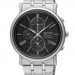 นาฬิกาผู้ชาย Seiko รุ่น SNAF75P1, Premier Chronograph Alarm