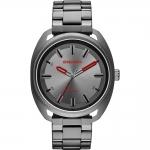 นาฬิกาผู้ชาย Diesel รุ่น DZ1855, Fastback Features A Gunmetal Case, Gray Sunray Dial And Three-Link Bracelet Men's Watch
