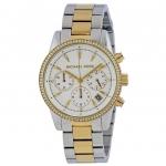 นาฬิกาผู้หญิง Michael Kors รุ่น MK6474, Ritz Chronograph Diamond Women's Watch