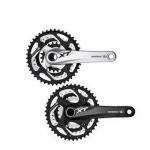 (พร้อมส่ง) จานหน้าจักรยาน XT, FC-M780, 10-SPD, 42/32/24T, สีดำ, 175MM, 170MM (ไม่รวมเครื่องมือ)