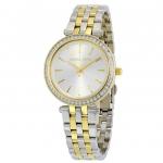 นาฬิกาผู้หญิง Michael Kors รุ่น MK3405, Mini Darci Two Tone Crystals Quartz Women's Watch