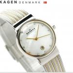 นาฬิกาผู้หญิง Skagen รุ่น 355SSGS, Ancher Quartz Diamonds