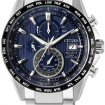 นาฬิกาผู้ชาย Citizen Eco-Drive รุ่น AT8154-82L, Radio Controlled AT Chronograph Sapphire Titanium Men's Watch