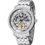นาฬิกาผู้ชาย Stuhrling Original รุ่น 411.33112, Symphony DT Automatic Dual Time Stainless Steel