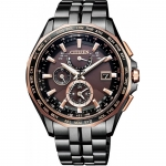 นาฬิกาผู้ชาย Citizen Eco-Drive รุ่น AT9096-73E, Global Radio Controlled AT Sapphire World Time Watch