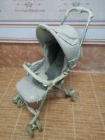 รถเข็นเด็ก Aprica สีเทาอ่อน รหัสสินค้า : C0060