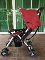 รถเข็นเด็กมือสอง Combi สีแดง-ดำ รหัสสินค้า : C0040