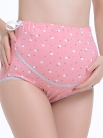 กางเกงชั้นในคนท้อง พยุงหน้าท้อง ลายน่ารัก มีสายปรับขนาดครรภ์ L,XL,XXL