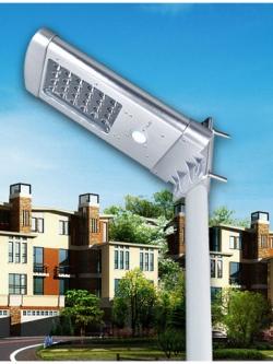 โคมไฟถนนโซลาเซลล์ 5 W Solar LED Street Light