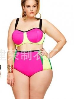 ชุดว่ายน้ำคนอ้วนพร้อมส่ง:ชุดว่ายน้ำทูพีชสีชมพูแต่งสีเขียวที่กางเกงแบบเก๋ sexyมากๆจ้า:รอบอก38-44นิ้ว เอว32-38นิ้ว สะโพก34-42นิ้วจ้า