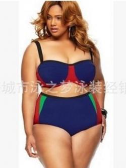 ชุดว่ายน้ำคนอ้วนพร้อมส่ง:ชุดว่ายน้ำทูพีชสีน้ำเงินแต่งสีเขียวและแดงที่กางเกงแบบเก๋ sexyมากๆจ้า: มี Size 3XL ,4XL รายละเอียดไซส์คลิกเลยจ้า