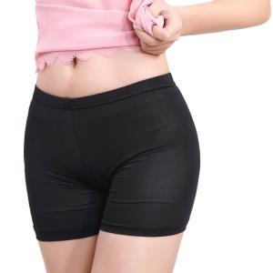 กางเกงซับในคนท้อง กันโป๊ ขอบเรียบมีสายปรับขนาด ผ้านิ่มเบา ใส่สบายไม่อึดอัด ดำ,ครีม,ขาว สำเนา