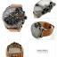นาฬิกาผู้ชาย Diesel รุ่น DZ4343, Mega Chief Black Dial Brown Leather thumbnail 2