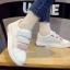 รองเท้าผ้าใบแฟชั่นเกาหลี Velcro thumbnail 6