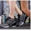 รองเท้าผ้าใบแบบตาข่ายระบายเสริมสูง 8cm thumbnail 2