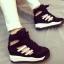 รองเท้าผ้าใบหุ้มข้อส้นสูงมีรูระบายอากาศ thumbnail 2