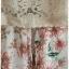 เดรสยาว เสื้อลูกไม้ สายเดี่ยว สีครีม เอวจั๊ม กระโปรง ผ้าชีฟอง พื้นสีขาว ลายดอก thumbnail 2