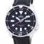 นาฬิกาผู้ชาย Seiko รุ่น SKX007J1-LS6, Automatic Diver's Ratio Black Leather thumbnail 1
