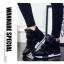 รองเท้าผ้าใบส้นสูง Velcro หนังนิ่ม thumbnail 4